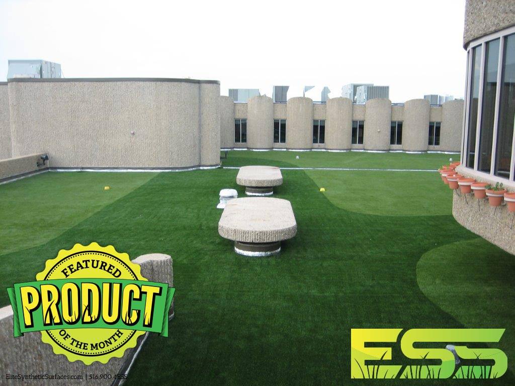 Commercial Rooftop Garden City Elite Synthetic Surfaces