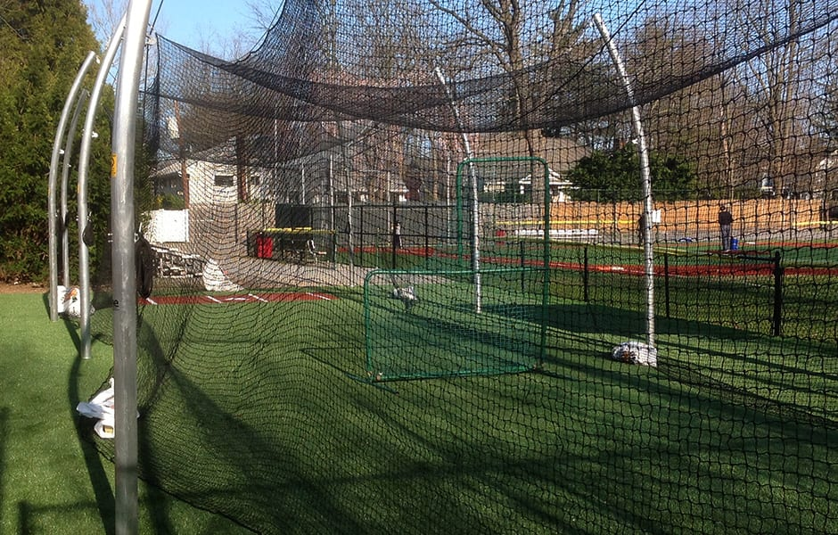 Artificial Grass Batting Cages
