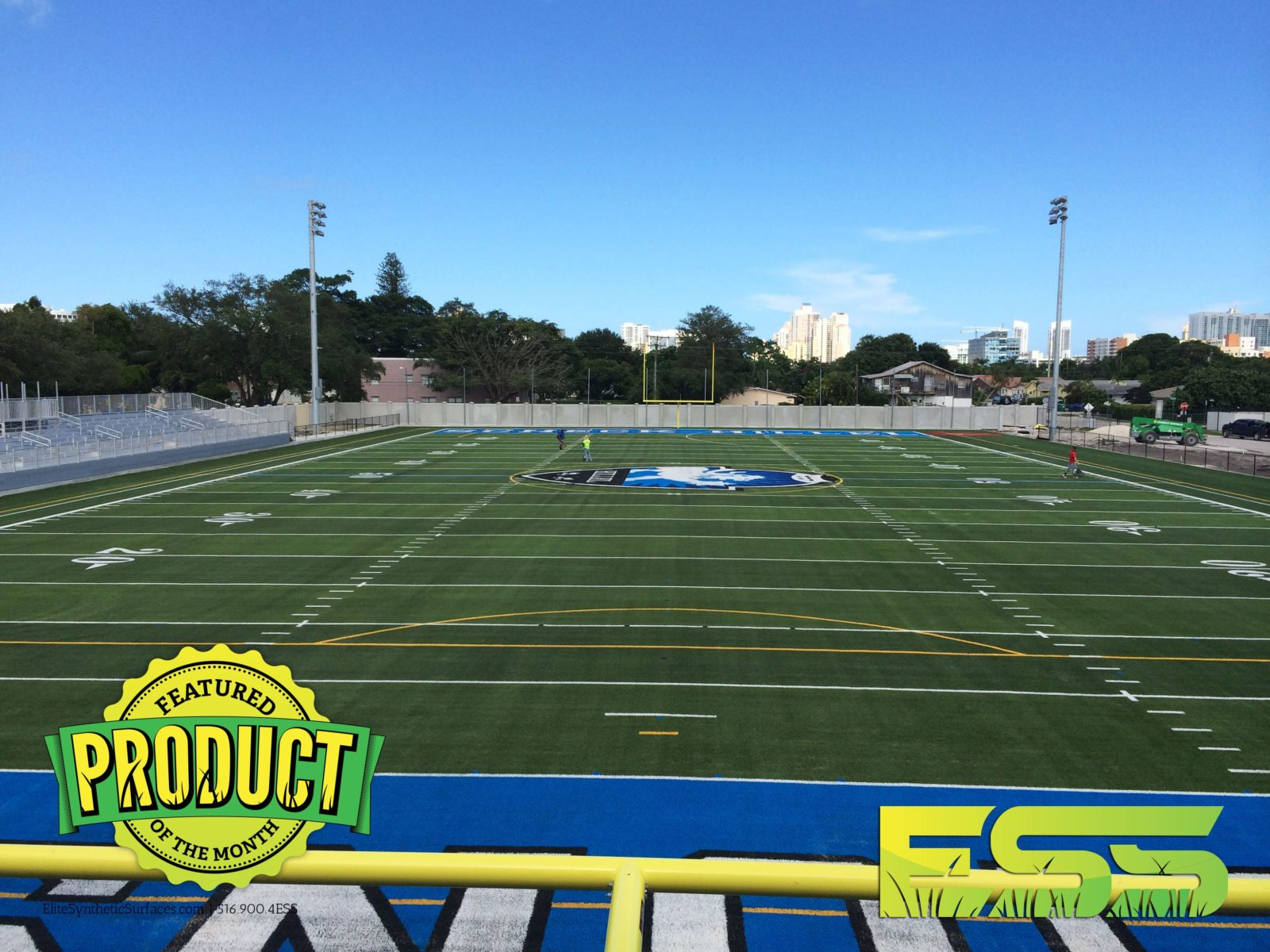 Leveling the Playing Field – Multipurpose Sport Field/Football Field – Scheck Hillel Community School, Miami, FL