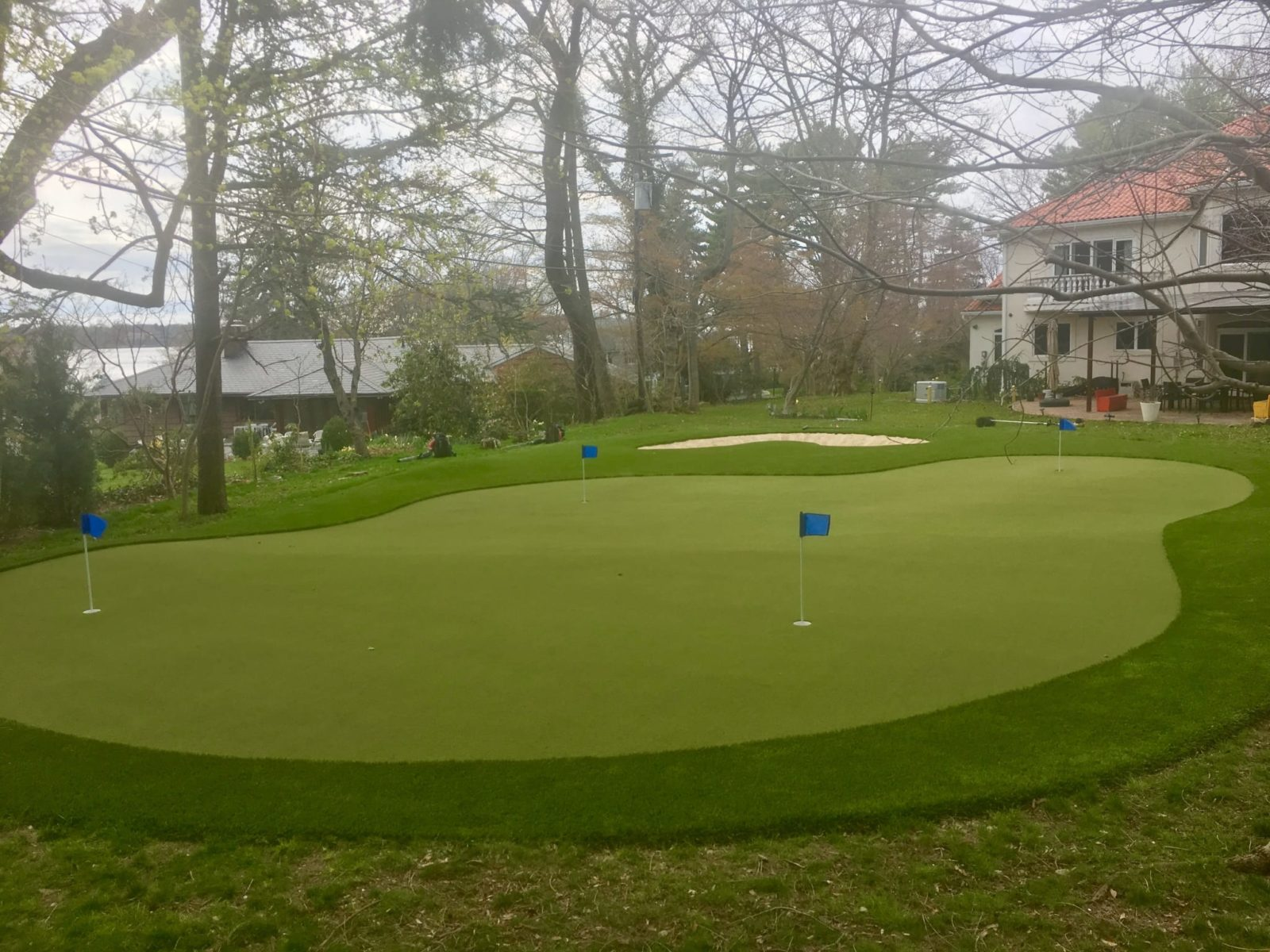 Synthetic Putting Green Turf Artificial Grass For Golf